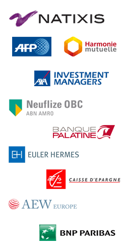 Clients : Natixis AM, Natixis BFI, AFP, DELL, Densitytech, Crespières